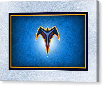 Atlanta Thrashers Canvas Print by Joe Hamilton