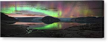 Auroral Display Canvas Print by Juan Carlos Casado (starryearth.com)