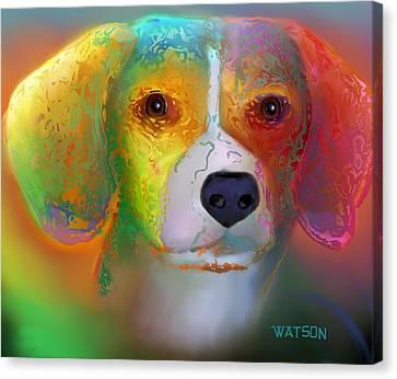 Beagle Canvas Print by Marlene Watson
