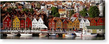 Bergen Norway Canvas Print by Panoramic Images