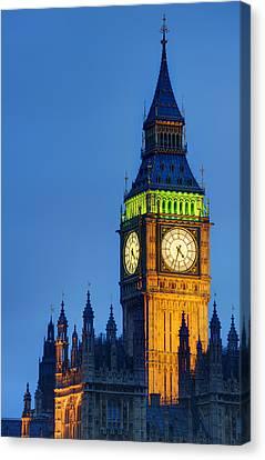 Big Ben London Canvas Print by Matthew Gibson