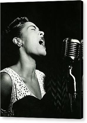 Billie Holiday Canvas Print by Retro Images Archive