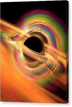 Black Hole Canvas Print by Alfred Pasieka