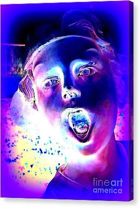 Blue Boy Canvas Print by Ed Weidman