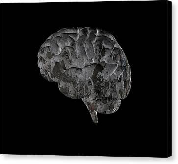 Brain Disease Canvas Print by Christian Darkin