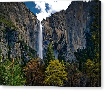 Bridalveil Falls Canvas Print by Bill Gallagher