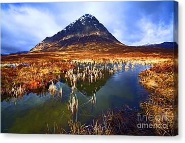 Buachaille Etive Mor Scotland Canvas Print by Craig B