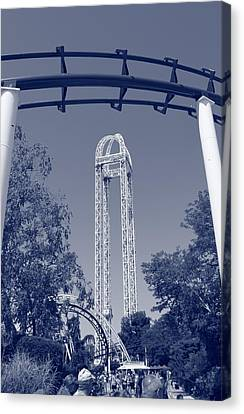 Cedar Point Canvas Print by Dan Sproul