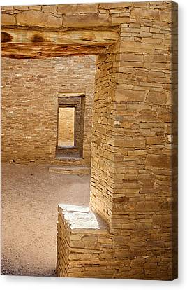 Chaco Canyon Canvas Print by Steven Ralser