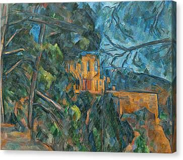 Chateau Noir Canvas Print by Paul Cezanne