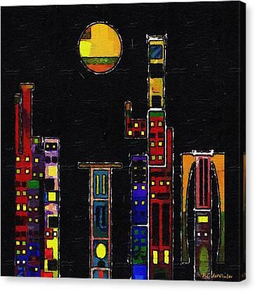 Chinatown Canvas Print by RC deWinter