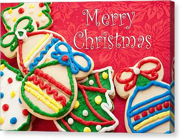 Christmas Cookies Canvas Print by Vizual Studio