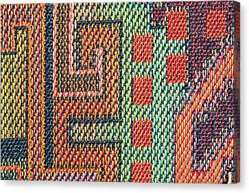 Cloth Pattern Canvas Print by Tom Gowanlock