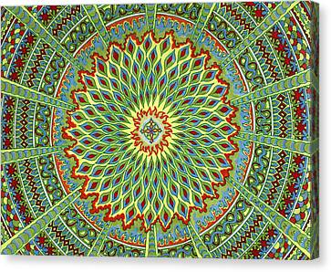 Cosmic Salad Canvas Print by Chris  Rolling