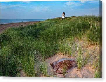 Covehead Lighthouse Canvas Print by Matt Dobson