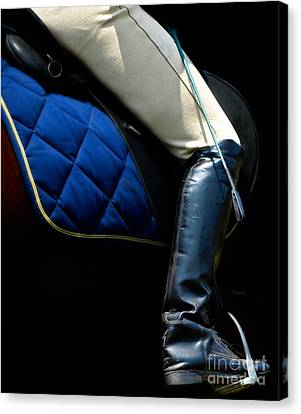 Crop And Boot  Canvas Print by Steven  Digman