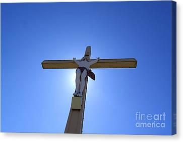 Crucifix Canvas Print by Bernard Jaubert