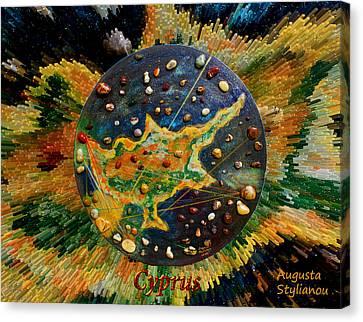 Cyprus Stars Canvas Print by Augusta Stylianou