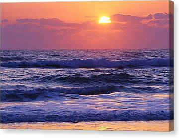 Dawn Of A New Day Canvas Print by Bruce Bley
