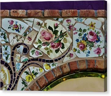 Detail Mosaics Canvas Print by Charles Lucas