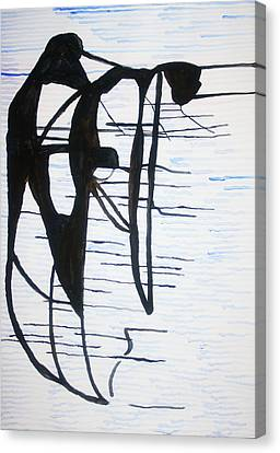 Dinka Motherhood - South Sudan Canvas Print by Gloria Ssali