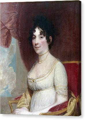 Dolley Payne Todd Madison (1768-1849) Canvas Print by Granger
