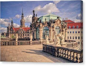 Dresden Zwinger Canvas Print by Steffen Gierok