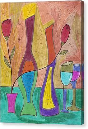 2 Each Canvas Print by Ray Ratzlaff
