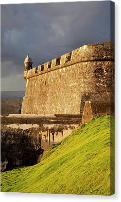 El Morro Fort In Old San Juan, Puerto Canvas Print by Brian Jannsen