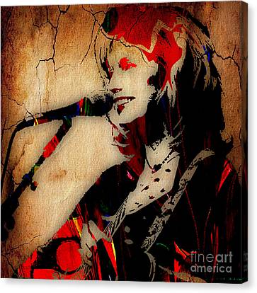 Emmylou Harris Collection Canvas Print by Marvin Blaine