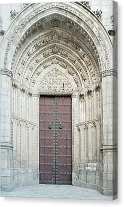 Europe, Spain, Toledo, Toledo Cathedral Canvas Print by Rob Tilley