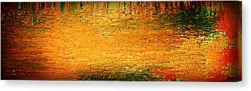 Feel Me Flow Canvas Print by Cyryn Fyrcyd