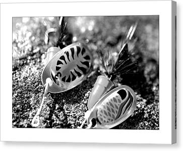 Fishing Lure Canvas Print by Toppart Sweden
