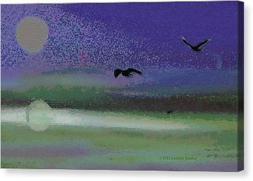 Flight Canvas Print by Lenore Senior