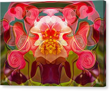 Flower Child Canvas Print by Omaste Witkowski