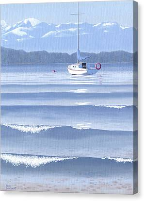 From The Beach Canvas Print by Gary Giacomelli