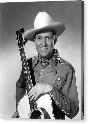 Gene Autry Canvas Print by Silver Screen
