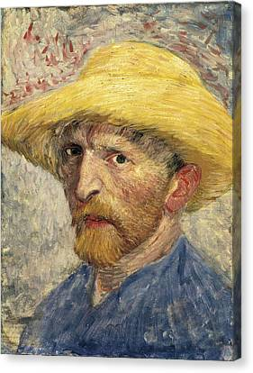 Gogh, Vincent Van 1853-1890 Canvas Print by Everett