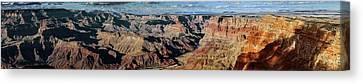 Grand Canyon At Sunset Canvas Print by Babak Tafreshi