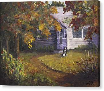 Grandma's House Canvas Print by Bev Finger