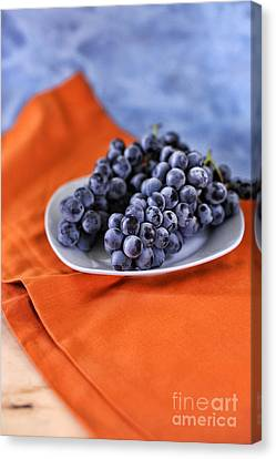 Grapes Canvas Print by HD Connelly