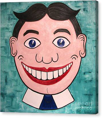 Happy Tilly Canvas Print by Patricia Arroyo