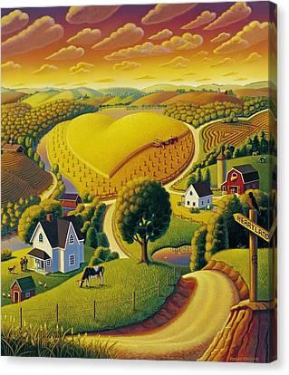 Heartland  Canvas Print by Robin Moline