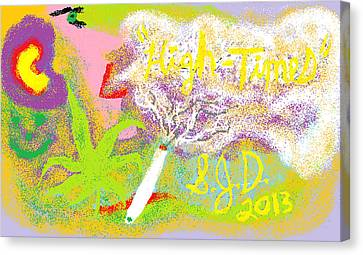 High Times Canvas Print by Joe Dillon