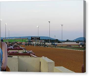 Hollywood Casino At Charles Town Races - 12127 Canvas Print by DC Photographer
