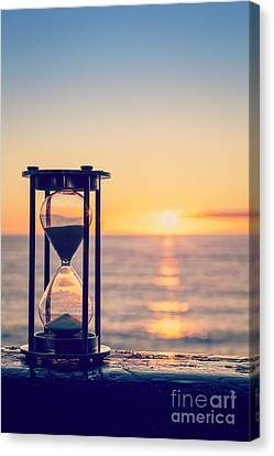 Hourglass Sunrise Canvas Print by Colin and Linda McKie