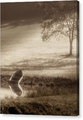 In Quiet Solitude Canvas Print by Tom Mc Nemar