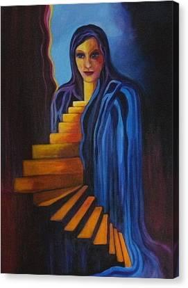 Inner Strength Canvas Print by Carolyn LeGrand
