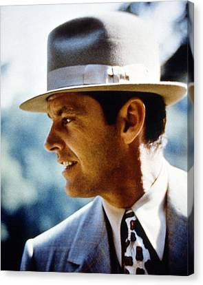 Jack Nicholson In Chinatown  Canvas Print by Silver Screen