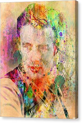 James Dean Canvas Print by Mark Ashkenazi